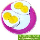 Два желтка в одном яйце ТД Золотое яичко