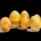 пасхальный декупаж яиц